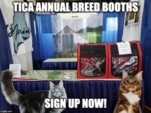 TICA ANNUAL BREED BOOTHS